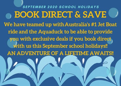 Book Direct & Save - September 2020